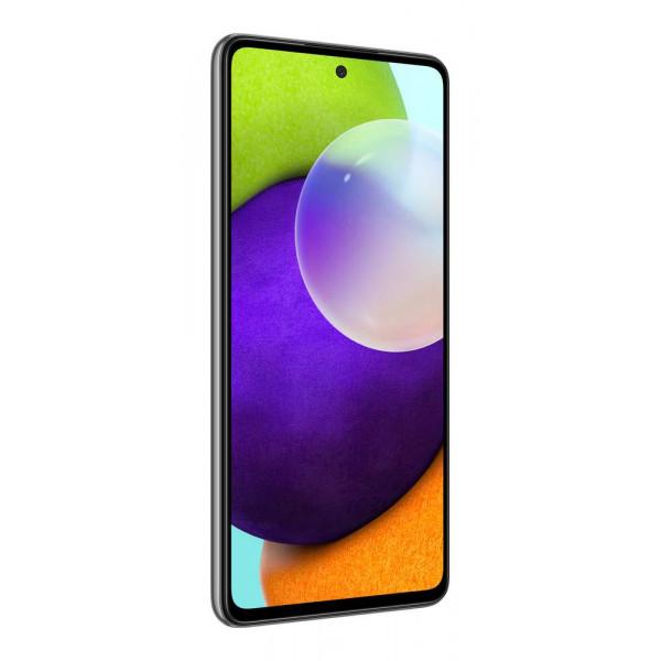 Išmanusis telefonas Samsung Galaxy A52 6GB+128GB LTE Juodas
