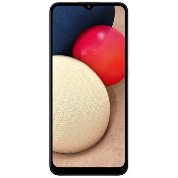Išmanusis telefonas Samsung Galaxy A02s 3GB+32GB Baltas