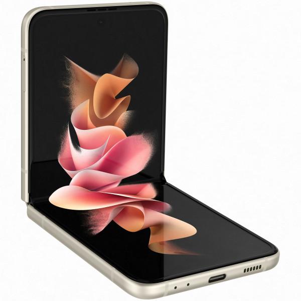 Išmanusis telefonas Samsung Galaxy Z Flip3 5G 256GB Cream