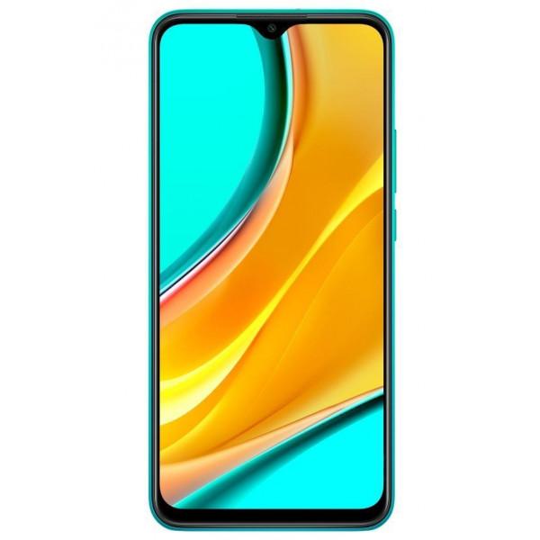 Išmanusis telefonas MOBILE PHONE REDMI 9 64GB OCEAN GREEN MZB9705EU XIAOMI