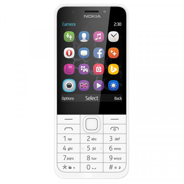 MOB. TELEFONAS NOKIA 230 DS SILVER