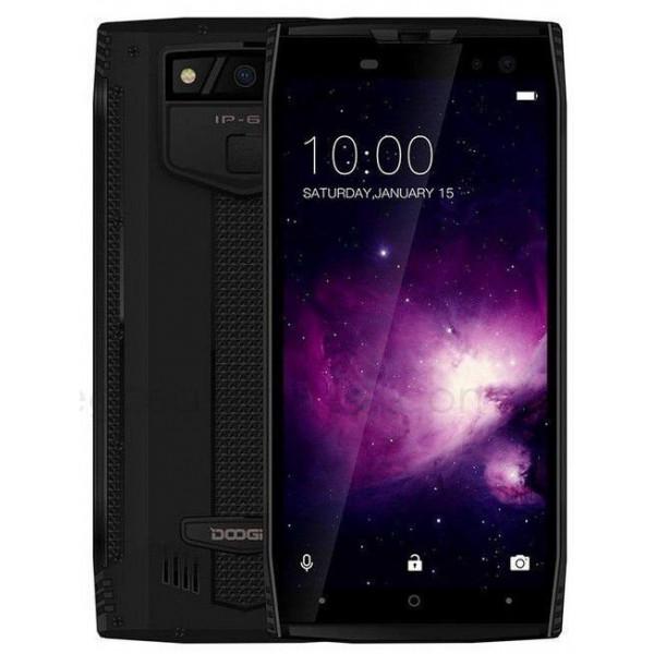 S50 Doogee mobilus telefonas 6/64GB Mineral Black