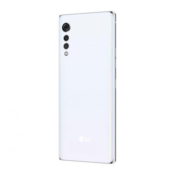 Išmanieji telefonai LG VELVET GLOSSY WHITE