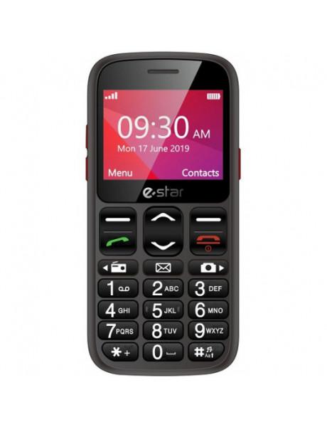 Mobilusis telefonas eSTAR S23 Senior single SIM Black