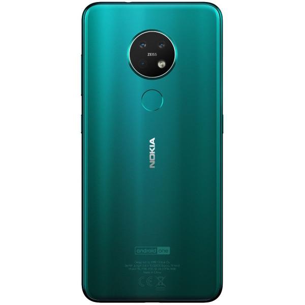IŠMANUSIS TELEFONAS Nokia 7.2 Dual SIM 64GB TA-1196 Žalias