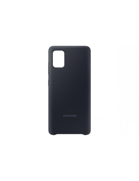 Samsung PA515TBE Silicone Cover for Samsung Galaxy A51 / Black EF-PA515TBEGEU