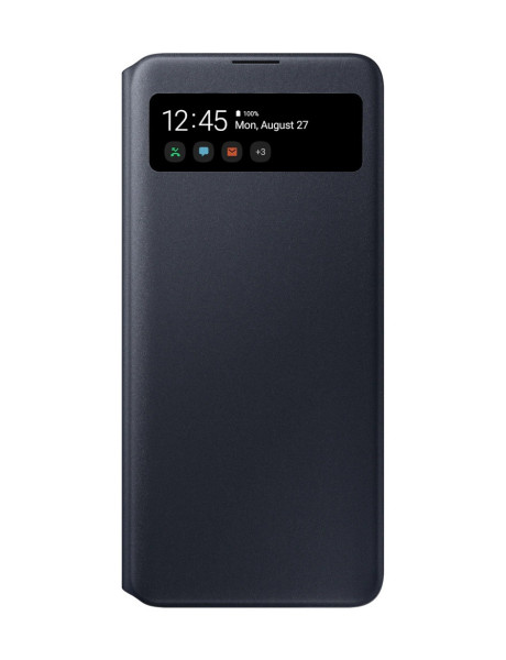 Samsung EA715PBE S View Wallet cover for Samsung Galaxy A71 / Black EF-EA715PBEGEU
