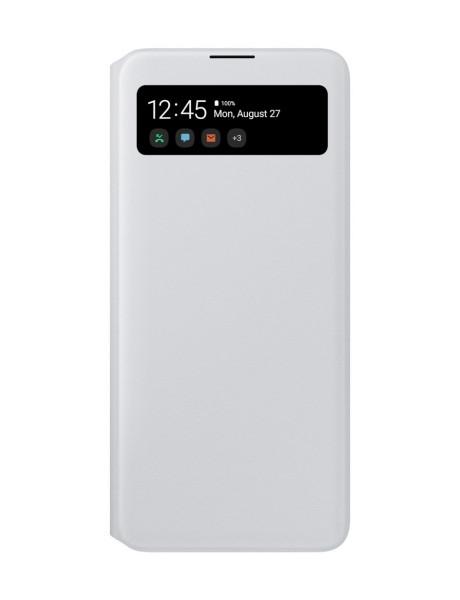 Samsung EA715PWE S View Wallet cover for Samsung Galaxy A71 / White EF-EA715PWEGEU