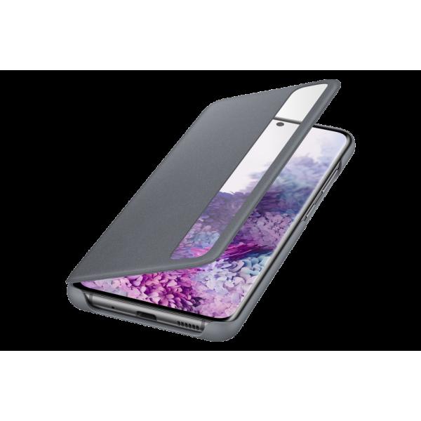 Dėklas Samsung ZG985CJE Clear view cover for Samsung Galaxy S20 Plus / Grey EF-ZG985CJEGEU