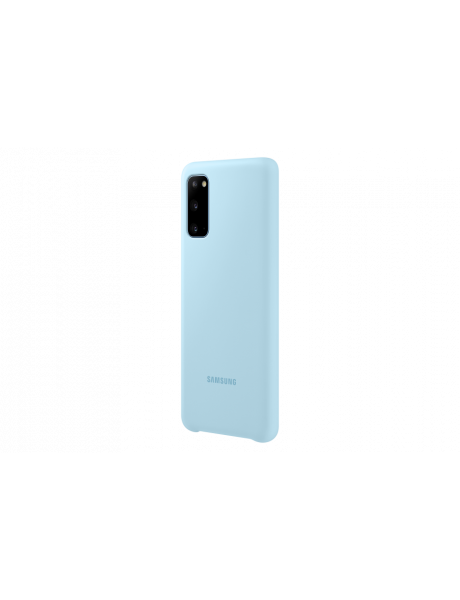 Dėklas Samsung PG980TLE Silicone Cover for Samsung Galaxy S20 Sky / Blue EF-PG980TLEGEU