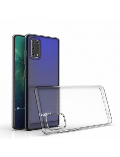 Dėklas Just Must Nake back cover Anti-Bacteria for Samsung Galaxy A41 / Transparent 6973297900060
