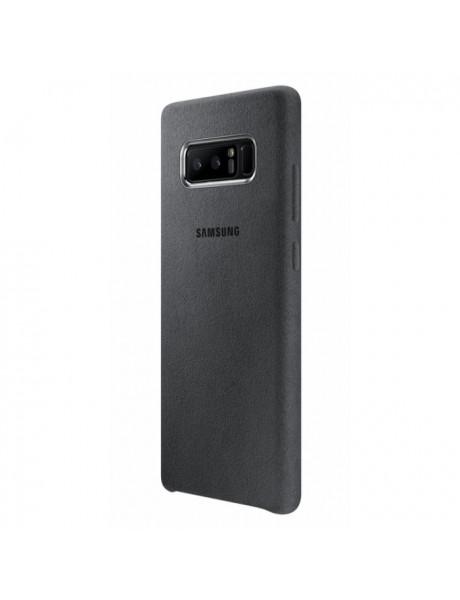 DĖKLAS Samsung Alcantara Cover for N950 / Grey EF-XN950AJEGWW