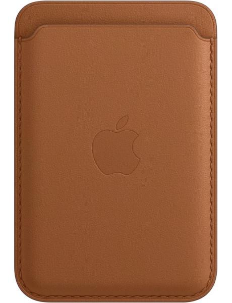 Piniginė iPhone Leather Wallet with MagSafe - Saddle Brown