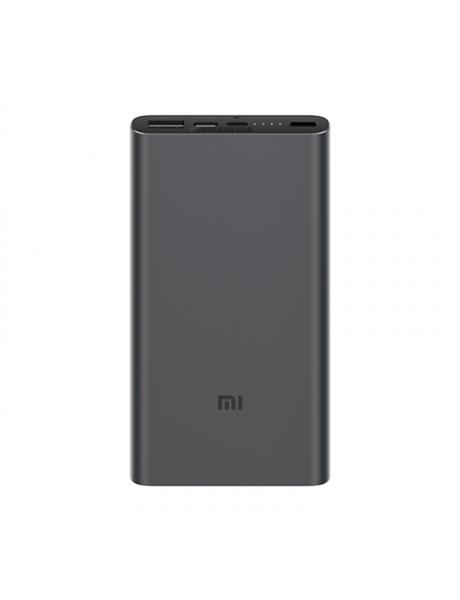 IŠORINĖ BATERIJA Xiaomi Mi 10000mAh Mi 18W Fast Charge Power Bank 3 Black