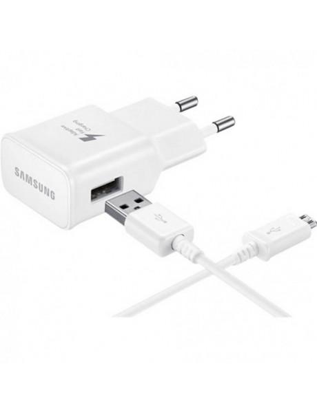 PAKROVĖJAS SAMSUNG MICRO USB 2A/WHITE EP-TA 20EWEUGWW
