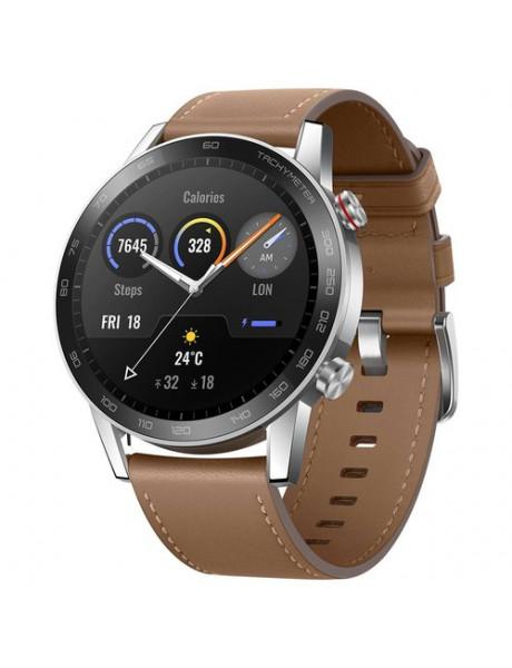 Išmanusis laikrodis Honor Magic Watch 2 46MM Leather Wristband Flax Brown