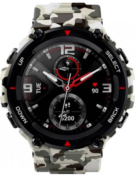 Išmanusis laikrodis Amazfit T-Rex Smart watch Camo Green