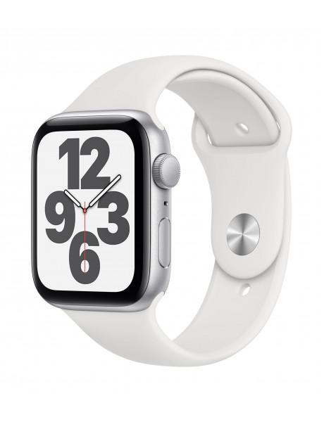 Išmanusis laikrodis Apple Watch SE GPS 44mm Silver Aluminium Case with White Sport Band - Regular