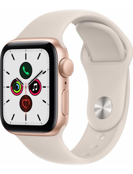 Išmanusis laikrodis Apple Watch SE GPS, 40mm Gold Aluminium Case with Starlight Sport Band - Regular