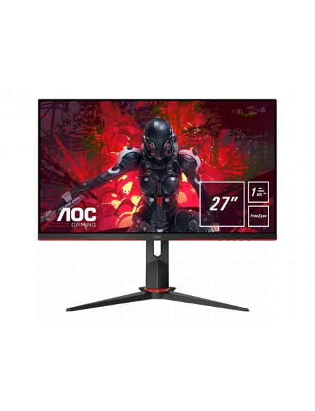 """Monitorius AOC 27G2U5 27"""" 1920x1080/250 cd/m²/1 ms/DisplayPort HDMI Black"""