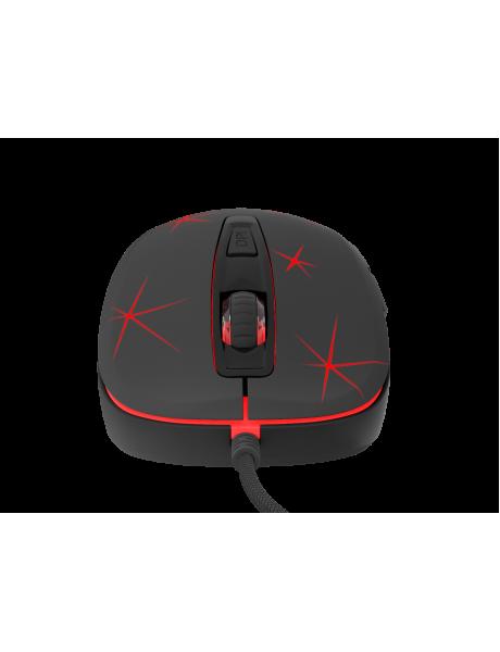 PELĖ Genesis Krypton 110 NMG-1056 Optical Mouse, Wired, No, Gaming Mouse, Black