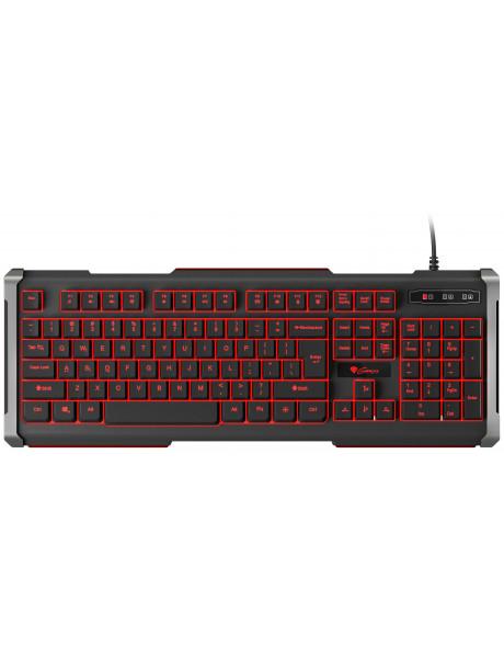 ŽAIDIMŲ KLAVIATŪRA Genesis RHOD 400, Gaming keyboard, US, Black,USB