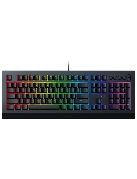 KLAVIATŪRA Razer Cynosa V2, Gaming keyboard, RGB LED light, US, Black, Wired