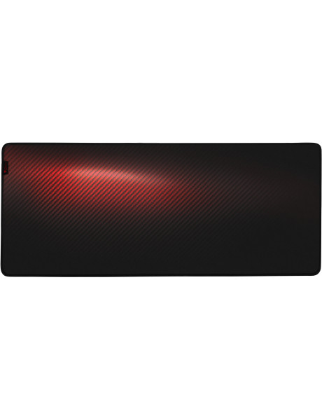 PELĖS KILIMĖLIS Genesis Carbon 500 Ultra Blaze 450 x 1100 x 2.5 mm, Red/Black