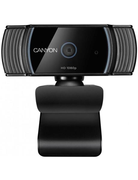 Kompiuterio kamera CANYON CNS-CWC5 1080P full HD 2.0Mega auto focus webcam withUSB2.0 c