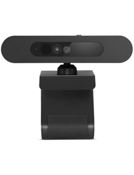 INTERNETINĖ KAMERA Lenovo Full HD Webcam 500 Black, No Microphone, USB-C, Windows Hello