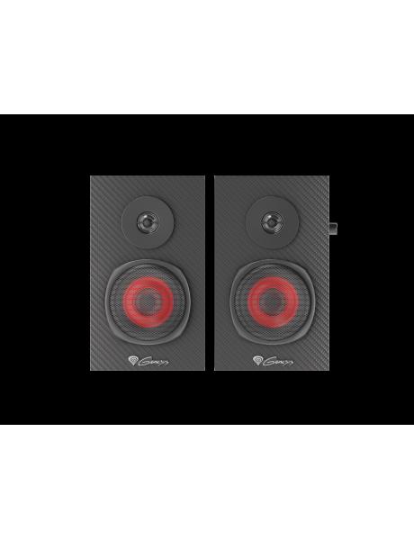 Kompiuterio kolonėlės Genesis Helium 200 Gaming Speakers, 4 ?, Black