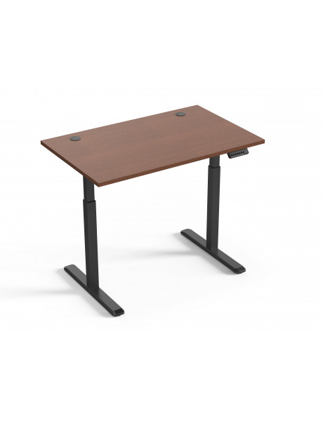 Reguliuojamo aukščio stalas Up Up Bjorn Juodas, Stalviršis M Tamsus riešutas