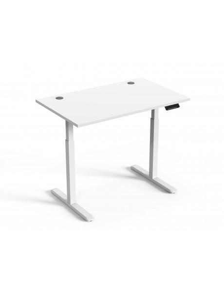 Reguliuojamo aukščio stalas Up Up Bjorn Baltas, Stalviršis M Baltas