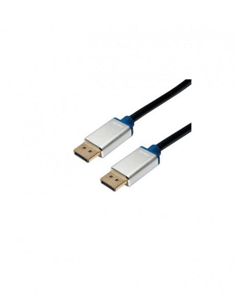 Laidas Logilink Premium DisplayPort Cable Black, 1.5 m