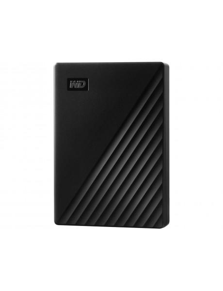 IŠORINIS KIETASIS DISKAS HDD WD My Passport (4TB USB 3.2) Black