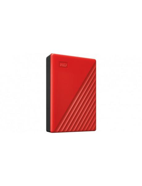 IŠORINIS KIETASIS DISKAS WD My Passport (2TB USB 3.2) Red