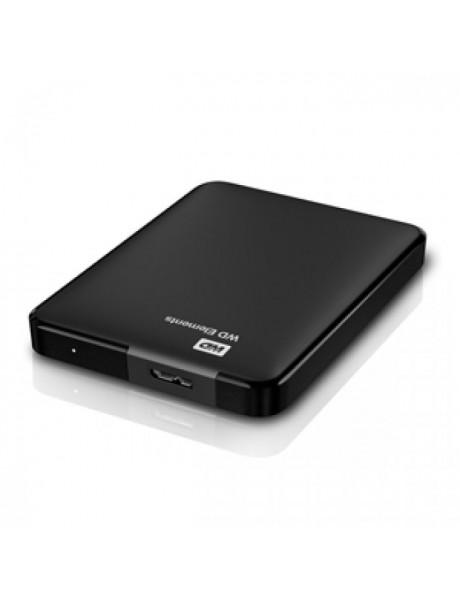 IŠORINIS KIETAS DISKAS WD ELEMENTS PORTABLE 1TB USB3.0 BLACK