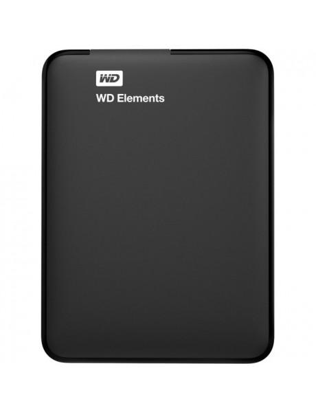 IŠORINIS KIETAS DISKAS WD ELEMENTS PORTABLE 2TB USB3.0 BLACK