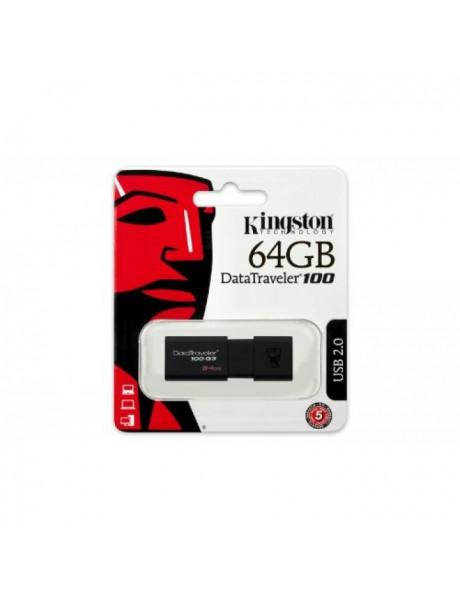 USB ATMINTINĖ KINGSTON USB3.0 64GB DT100G3/64GB