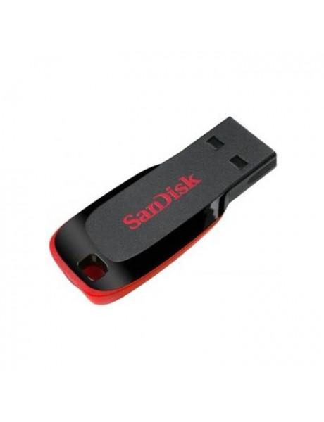 ATMINTINE SANDISK 32GB FLASH DRIVE CRUZER BLADE BLACK/RED