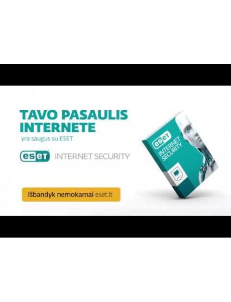 Antivirusinė ESET INTERNET SECURITY BOX 2 KOMP.