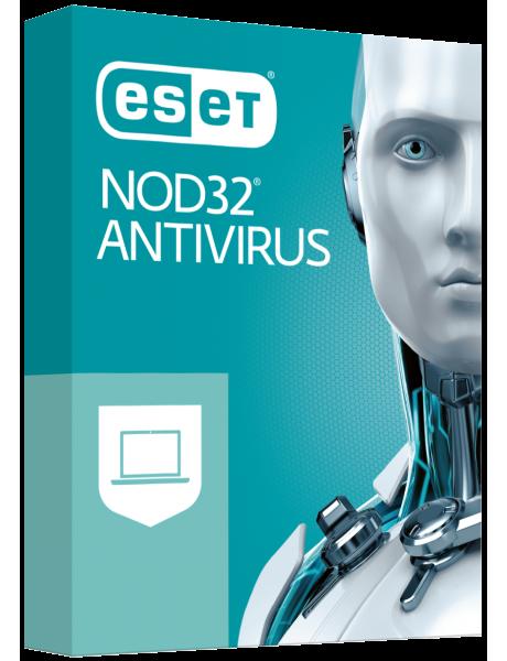 ANTIVIRUSINĖ PROGRAMA ESET NOD32 Antivirus BOX 1 komp.