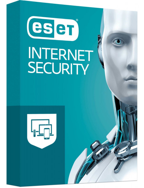 ANTIVIRUSINĖ PROGRAMA ESET Internet Security BOX 1 komp.