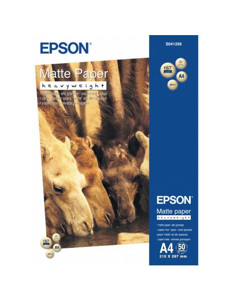 Popierius Epson Matte Paper Heavy Weight, DIN A4, 167g/m?², 50 Sheets