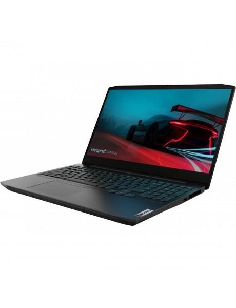 Nešiojamasis kompiuteris Lenovo Gaming 3 RYZEN 5 4600H/8GB/256GB SSD/GTX1650TI-4GB/DOS