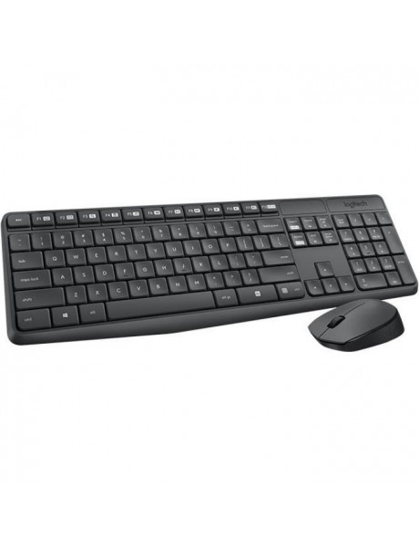 KLAVIATÛRA LOGITECH MK235 Wireless Keyboard&Mouse US