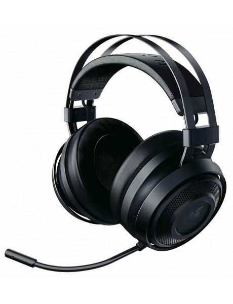 Ausinės Razer Wireless USB, Nari Essential Gaming Headset, Black, Built-in microphone