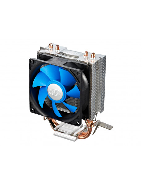 Deepcool  Ice Edge Mini FS universal cooler, 2 heatpipes, Intel Socket LGA1156 /1155/ 775 and AMD Socket FM1/AM3+/AM3/AM2+/AM2/940/939/754 deepcool Iceedge mini FS  Universal
