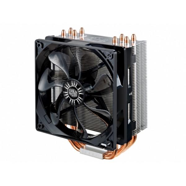 Cooler Master Hyper 212 EVO Universal cooler, 4 x Ø6mm heat-pipes, Intel 775/115x/1366/2011 and AMD AM x/FM x, 120mm PWM fan Cooler, Universal