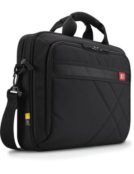 Case Logic DLC115 Fits up to size 15 , Black, Shoulder strap, Messenger - Briefcase